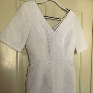 NWT Lilly Pulitzer Zina Romper Size 2 White